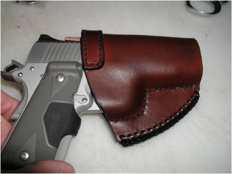 Holster Final wet sizing