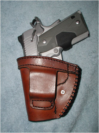 Holster Finished Back view